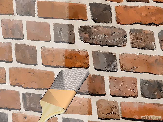 Brick Sealant Image Courtesy Of Wikihow