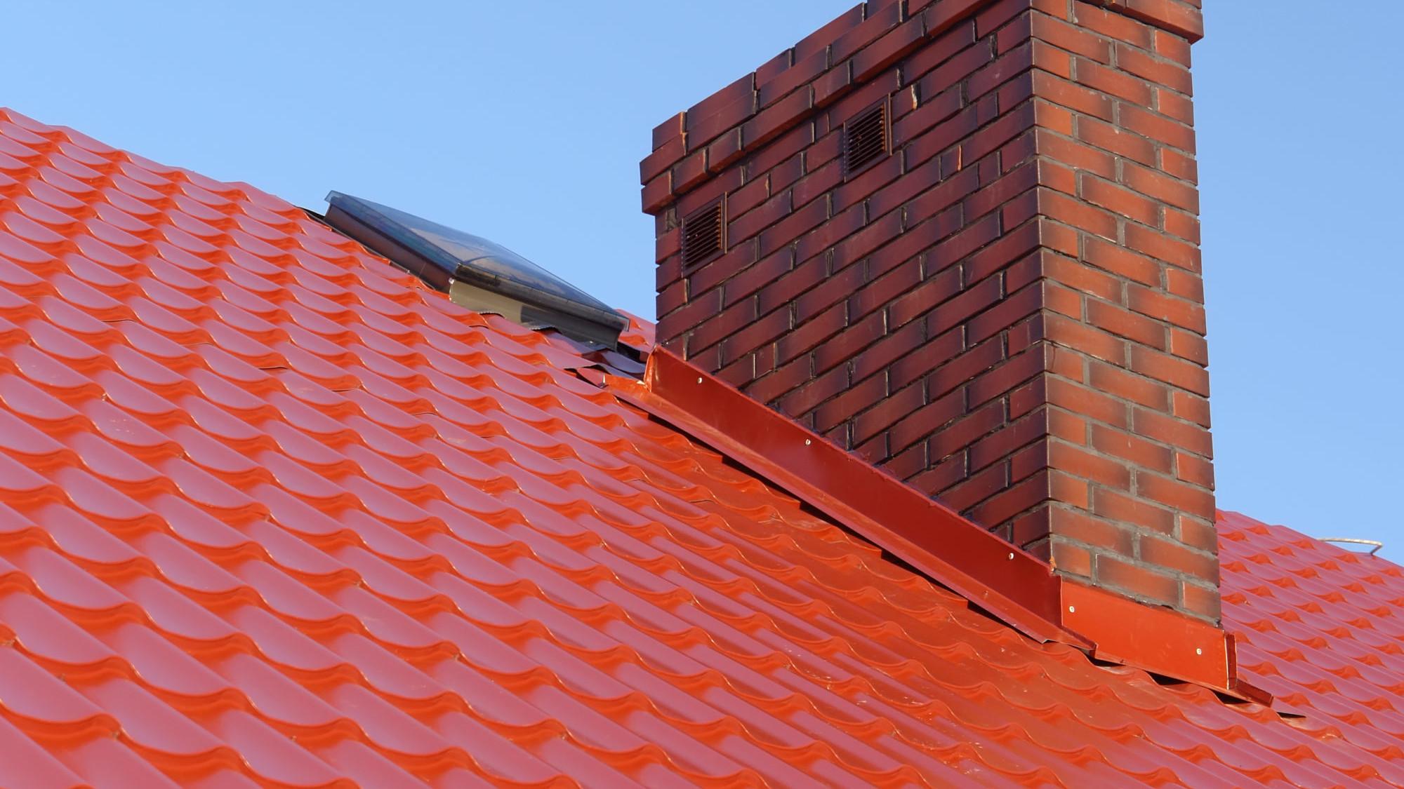 chimney flashing repair